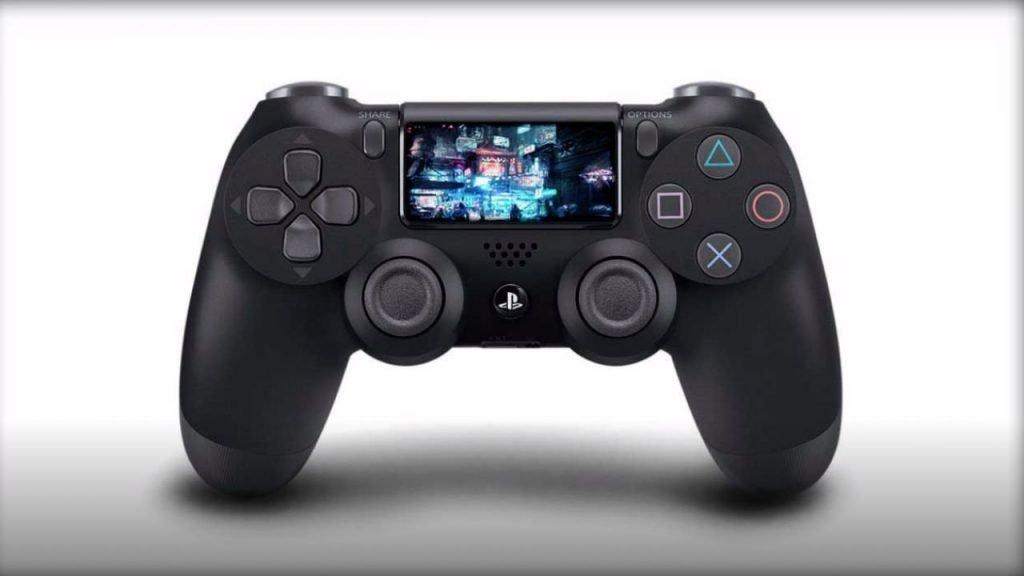 Disegno del nuovo controller della PS5